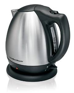 Hamilton Beach's Electric Stainless Steel Kettle 40870