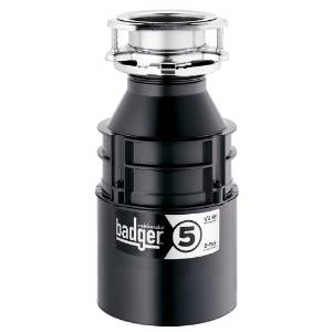 InSinkErator's 1 2 HP Badger5 Food Waste Disposer