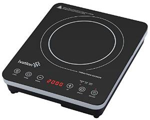 Ivation's 1800W Portable Induction Countertop Cooktop Burner