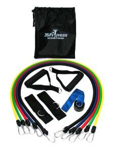 J's Fitness Resistance Band Package