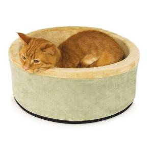 K&H's Kitty- Heated Thermo Cat Bed