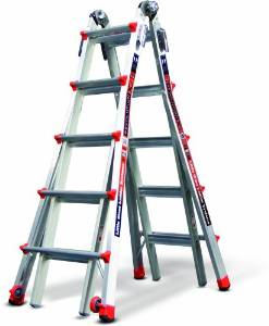 Little Giant's 300-PoundRevolutionXE 12022 Multi-Use Ladder