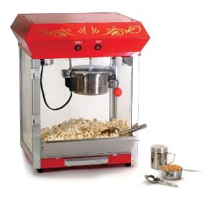 Maximatic's EPM-450 Popcorn Machine