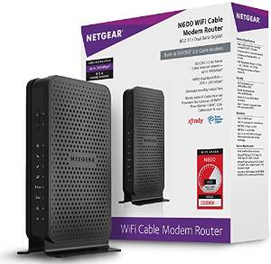 NETGEAR's Wi-Fi N600 Cable Modem Router