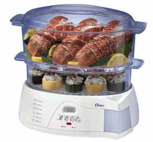 Oster's 2-Tier Electronic 5712 Food Steamer