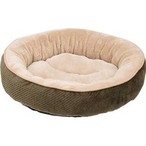 Petco's Textured Round Fern Cat Bed