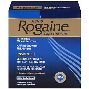 Rogaine's unscented Hair Regrowth Treatment for Men