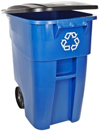 Rubbermaid's FG9W2773BLUE Container with Lid