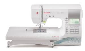 SINGER's 600-Stitch Quantum Stylist 9960 Embroidery Machine