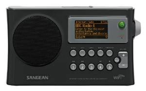 Sangean's Rechargeable WFR-28 WiFi Internet Radio