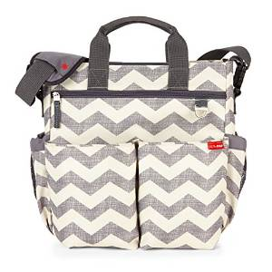 Skip Hop's Duo Signature Baby Diaper Bag