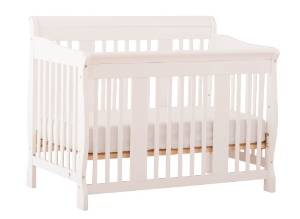 Stork Craft's 4-in-1 Tuscany Convertible Crib
