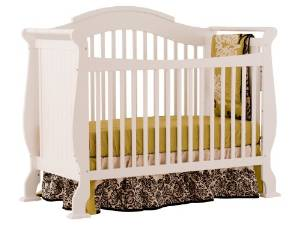 Stork Craft's Fixed Side Valentia Convertible Crib