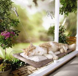 Sunny Seat's Cat Bed, Window- Mounted