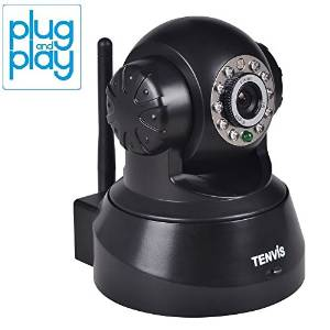 TENVIS' Wireless JPT3815W IP Pan Video Surveillance