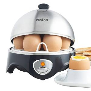 VonShef's 7-Egg Electric Cooker and Steamer