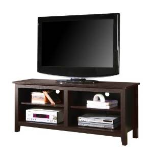 WE's Furniture Wood Modern TV Stand
