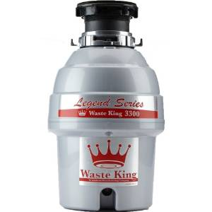 Waste King's 3 4 HP Legend Series L-3300 Garbage Disposer