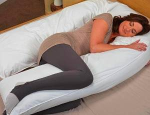 Web Linens Inc. Total Body Oversized Pregnancy Pillow
