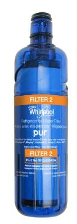 Whirlpool's Refrigerator Water Filter W104136A