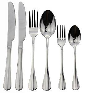 Zicome's Stainless Steel 24-piece Flatware Set