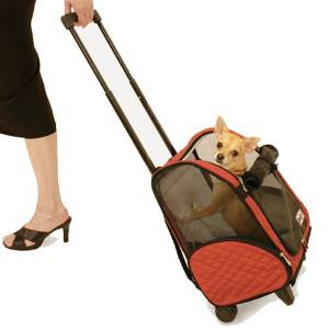 wheel- around Medium Snoozer Pet Carrier