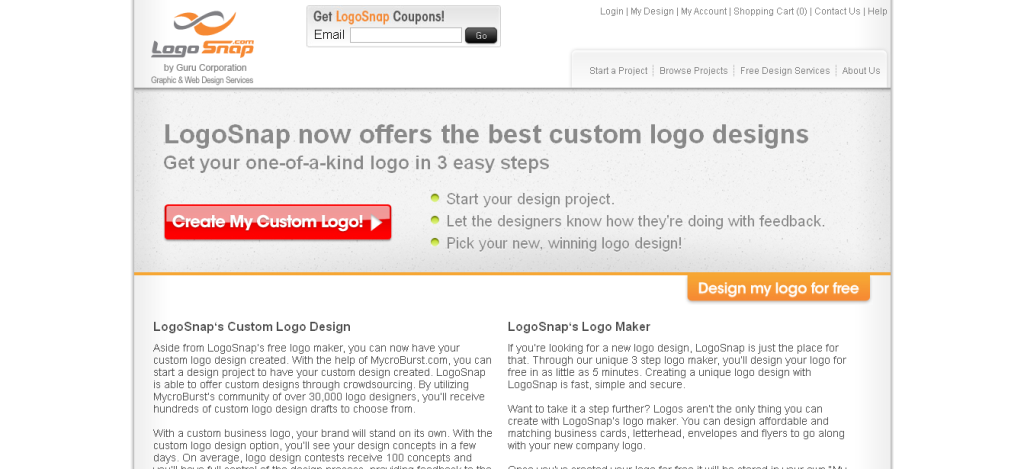 Business Logo Designs and Free Logo Generator_ Logo Snap