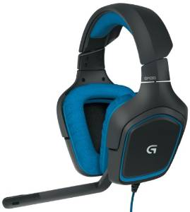 G430 Surround Sound Gaming Headset by Logitech, including Dolby 7.1 Technology