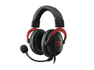 HyperX Cloud II PS4 & PC Gaming Headset, Red (KHX-HSCP-RD)
