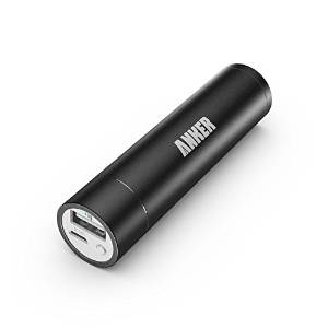 Lipstick-Sized External Portable Battery Charger Power Bank