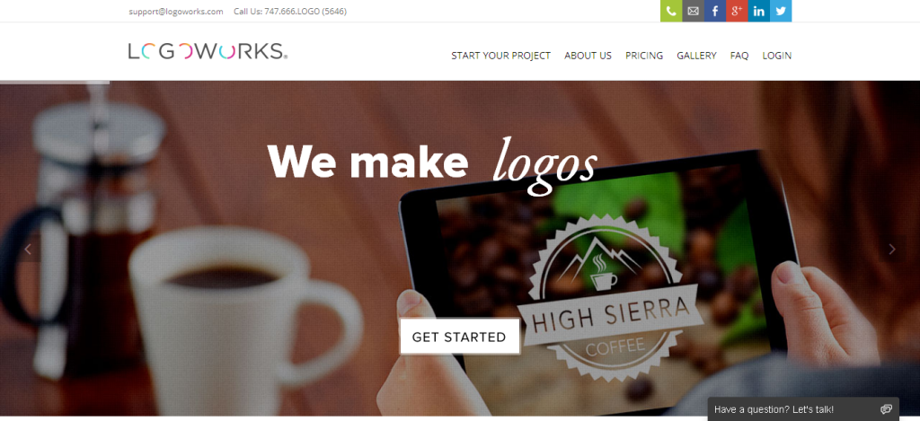 Logoworks I Professional Logo Design and Website Design