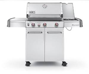 The Weber Genesis S-330 Stainless Steel