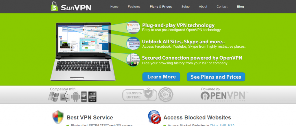 sunvpn review