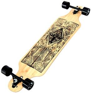 Atom Longboards Bamboo Drop Through Longboard