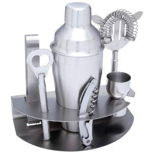 Cocktail 7pc Stainless Steel Bar Set