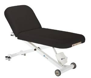 Earthlite Ellora Tilt Electric Lift Black Massage Table