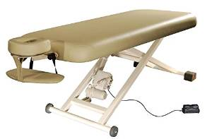 Massage Table with Headrest Electric Lift
