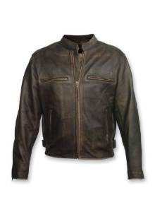 Milwaukee Motorcycle Clothing Company Men's Crazy Horse Jacket