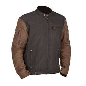 STREET & STEEL Iron Age Leather Motorcycle Jacket