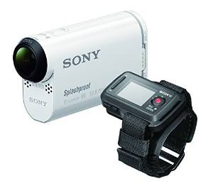 Sony POV HDR-AS100VR Live Action Camera (Video) White with Remote View