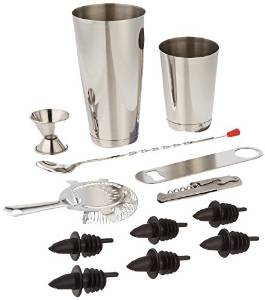 Winco Professional 13 Piece Bar Set