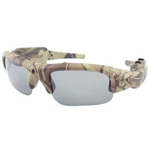 Wiseup Camouflage Hunting eyewear DVR Video Camera Sun Glasses Sport Camera