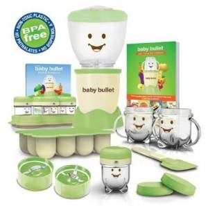 Baby Bullet Food System – 20-Piece