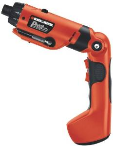 Black & Decker Pivot Plus Nicad Cordless Screwdriver