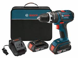 Bosh DDS181-02 18 Volt Lithium-Ion ½ Inch Compact Tough Drill/Driver Kit