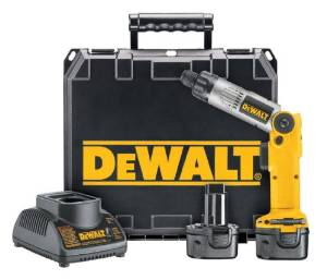 DeWalt ¼ Inch 7.2 Volt Cordless Two-Position Screwdriver Kit