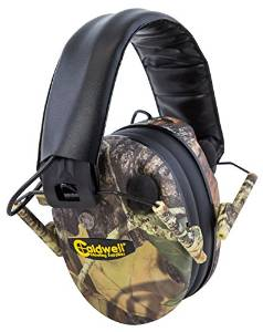Low Profile E-Max Electronic Ear Muffs from Caldwell