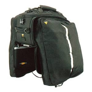MTX Trunk Bicycle Bag with Rigid Molded Panels by Topeak