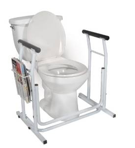 MedMobile Safety Rail of Toilet- Stand Alone