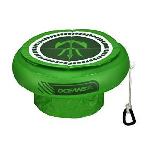 Ocean 7 Inflatable Lime Floating Cooler
